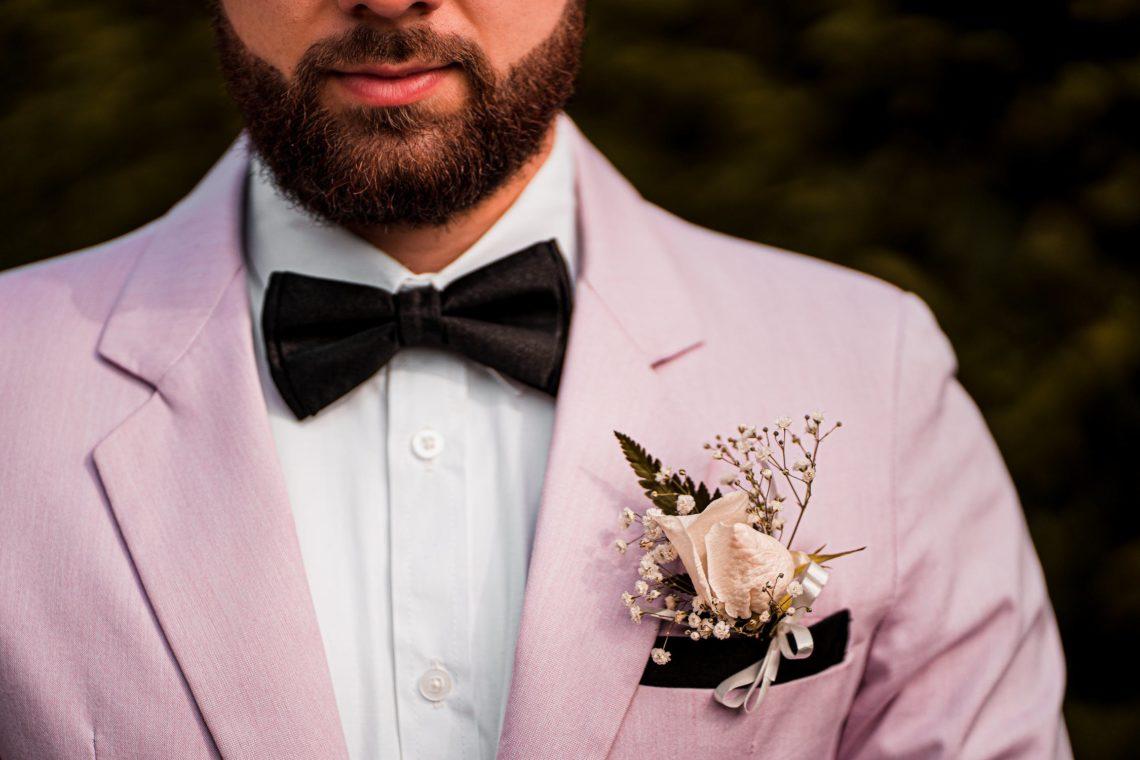 zomer bruiloft man outfit